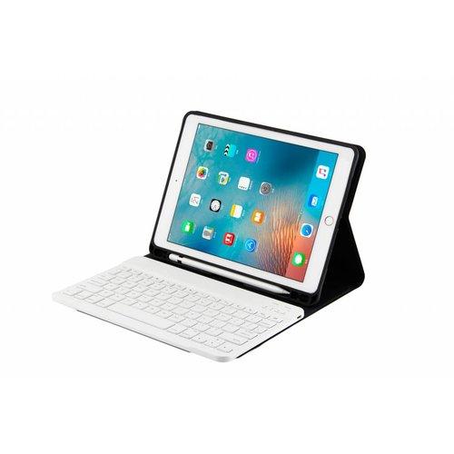 Bluetooth Smart QWERTY Keyboard hoes voor de Apple iPad Air 2 (9.7 inch) - Goud