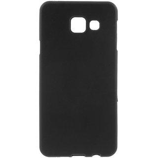 Samsung Galaxy A3 2016 siliconen (gel) achterkant hoesje - Zwart