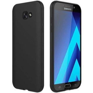 Samsung Galaxy A5 2017 siliconen (gel) achterkant hoesje - Zwart