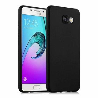 Samsung Galaxy A5 2016 siliconen (gel) achterkant hoesje - Zwart
