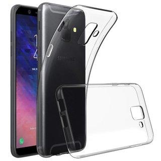 Samsung Galaxy A6 2018 siliconen (gel) achterkant hoesje - Transparant