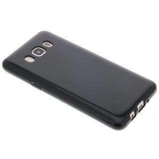 Samsung Galaxy J5 2016 siliconen (gel) achterkant hoesje - Zwart