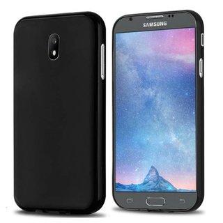 Samsung Galaxy J5 2017 siliconen (gel) achterkant hoesje - Zwart
