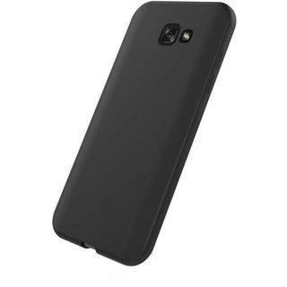 Samsung Galaxy J7 Prime siliconen (gel) achterkant hoesje - Zwart