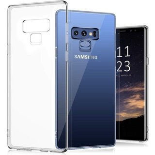 Samsung Galaxy Note 9 siliconen (gel) achterkant hoesje - Transparant