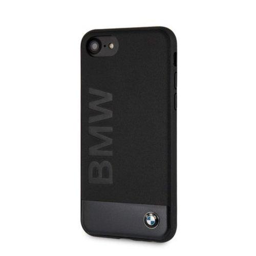 BMW Originele Signature Hybrid Back Cover Hoesje voor de Apple iPhone 6 / 6S / 7 / 8 - Zwart