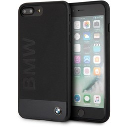 BMW Originele Signature Hybrid Back Cover Hoesje voor de Apple iPhone 6 Plus / 6S Plus / 7 Plus en 8 Plus - Zwart