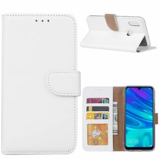 Bookcase Huawei P Smart 2019 hoesje - Wit