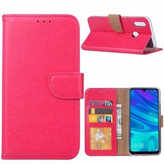 Bookcase Huawei P Smart 2019 hoesje - Roze