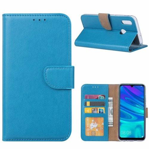 Bookcase Huawei P Smart 2019 hoesje - Blauw