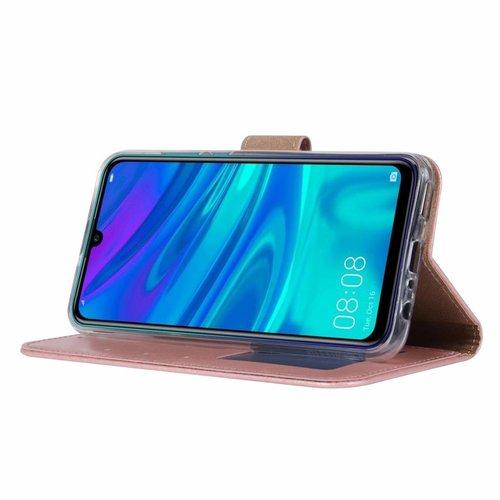 Bookcase Huawei P Smart 2019 hoesje - Rosé Goud
