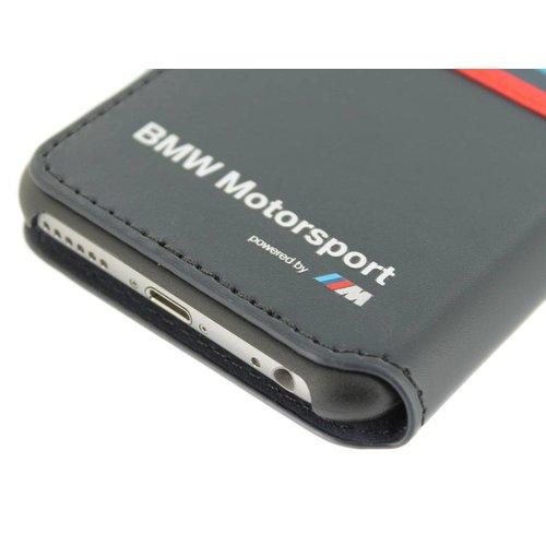 BMW Originele M-Sport Classic Collection Bookcase hoesje voor de Apple iPhone 6 / 6S - Donkerblauw