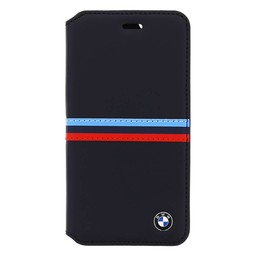 BMW Originele M-Sport Classic Collection Bookcase hoesje voor de Apple iPhone 6 / 6S - Donkerblauw