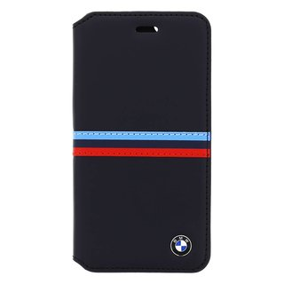 Originele M-Sport Classic Collection Bookcase hoesje voor de Apple iPhone 6 / 6S - Donkerblauw