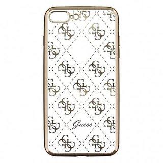 Originele Scarlett Transparant Hard TPU Back Cover Hoesje voor de Apple iPhone 7 / 8 Plus - Goud