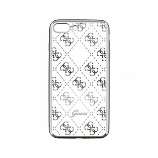 Originele Scarlett Transparant Hard TPU Back Cover Hoesje voor de Apple iPhone 7 / 8 Plus - Zilver