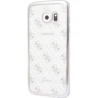 Originele Scarlett Transparant Hard TPU Back Cover Hoesje voor de Samsung Galaxy S7 - Zilver