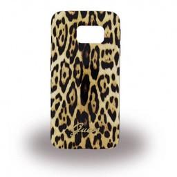 Guess Originele Animalier Leopard Hard TPU Back Cover Hoesje voor de Samsung Galaxy S6 Edge