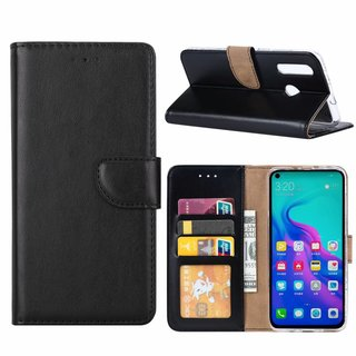 Bookcase Huawei Nova 4 hoesje - Zwart