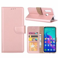 Bookcase Huawei Nova 4 hoesje - Rosé Goud