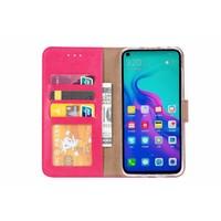 Bookcase Huawei Nova 4 hoesje - Roze