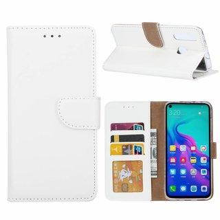 Bookcase Huawei Nova 4 hoesje - Wit