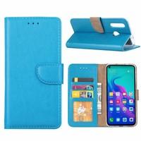 Bookcase Huawei Nova 4 hoesje - Blauw