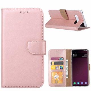 Bookcase Samsung Galaxy S10 hoesje - Rosé Goud