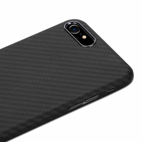 Nevox Originele Aramide Back Cover Hoesje voor de Apple iPhone 7 / 8 - Zwart