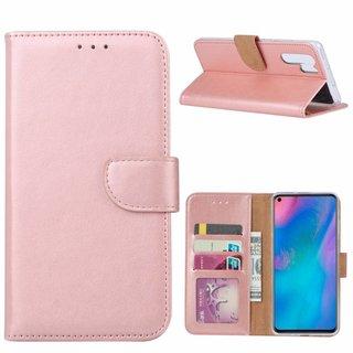 Bookcase Huawei P30 Pro hoesje - Rosé Goud
