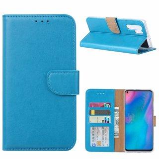 Bookcase Huawei P30 Pro hoesje - Blauw