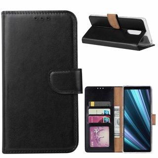 Bookcase Sony Xperia 1 hoesje - Zwart