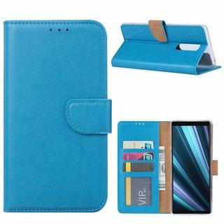 Bookcase Sony Xperia 1 hoesje - Blauw