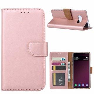 Bookcase Samsung Galaxy S10E hoesje - Rosé Goud