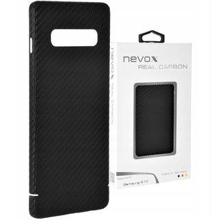 Originele Carbon Back Cover Hoesje voor de Samsung Galaxy S10 - Zwart