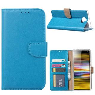 Bookcase Sony Xperia 10 Plus hoesje - Blauw