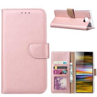 Bookcase Sony Xperia 10 Plus hoesje - Rosé Goud