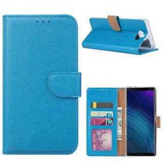 Bookcase Sony Xperia 10 hoesje - Blauw