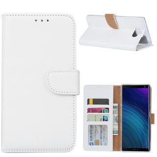 Bookcase Sony Xperia 10 Plus hoesje - Wit