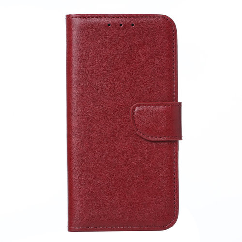 Bookcase Huawei P30 hoesje - Bordeauxrood