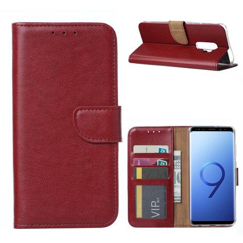 Bookcase Samsung Galaxy S9 Plus hoesje - Bordeauxrood