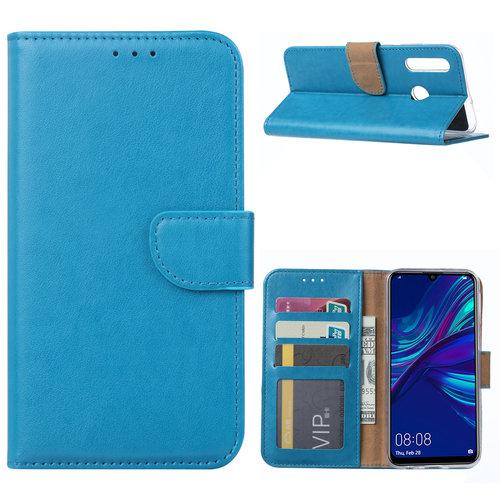 Bookcase Huawei P Smart Plus 2019 hoesje - Blauw