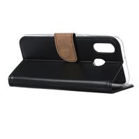 Bookcase Samsung Galaxy A40 hoesje - Zwart