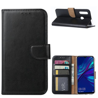 Bookcase Huawei P Smart Plus 2019 hoesje - Zwart