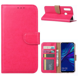 Bookcase Huawei P Smart Plus 2019 hoesje - Roze