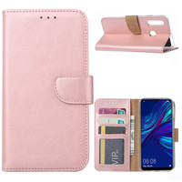 Bookcase Huawei P Smart Plus 2019 hoesje - Rosé Goud