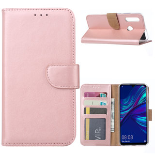 Bookcase Huawei P Smart Plus 2019 hoesje - Rosé Goud