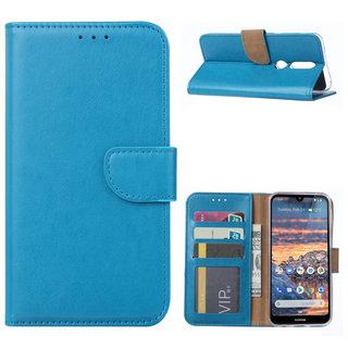 Bookcase Nokia 4.2 hoesje - Blauw