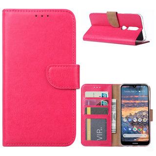 Bookcase Nokia 4.2 hoesje  - Roze