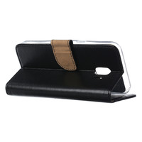 Bookcase Samsung Galaxy J2 Core hoesje - Zwart